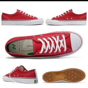 Red P F Flyers Tennis Shoes NWOT 9.5
